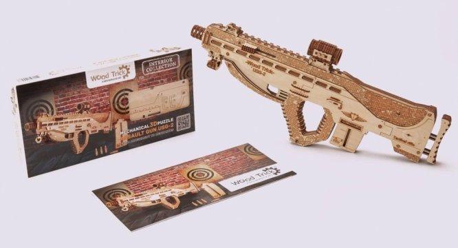 Деревянный конструктор «Штурмовая винтовка USG-2»