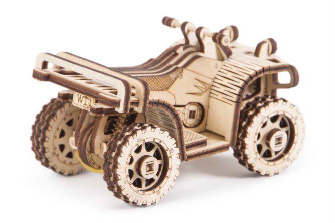 "Koka konstruktors ""Kvadracikls ATV"""