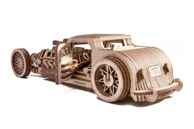 "Koka konstruktors ""Mašīna Hot Rod"""