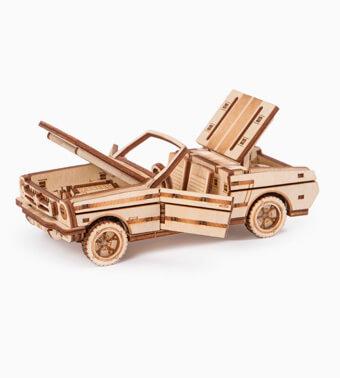 Деревянный конструктор «Кабриолет»