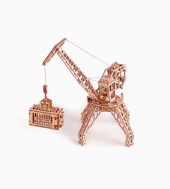 Деревянный конструктор «Кран»