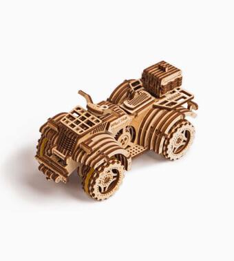 Деревянный конструктор «Квадроцикл»