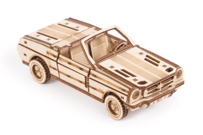 """Koka konstruktors """"Automašīnu komplekts"""""""