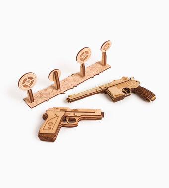 Деревянный конструктор «Набор пистолетов»