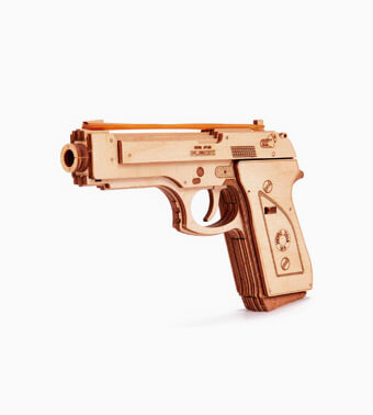 """Koka konstruktors """"Pistole M1″"""