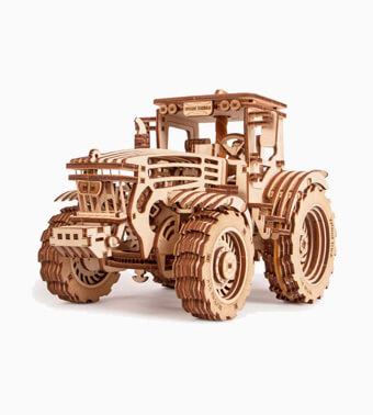 Деревянный конструктор «Трактор»