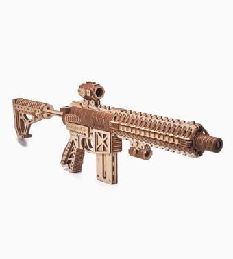 """Koka konstruktors """"Uzbrukuma šautene AR-T"""""""