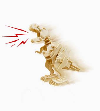 """Koka konstruktors """"Pastaigas T-REX dinozaurs"""""""