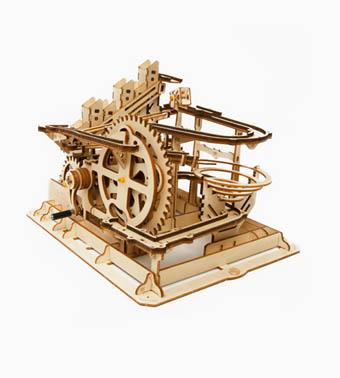 Деревянный конструктор «Мраморный паркур»