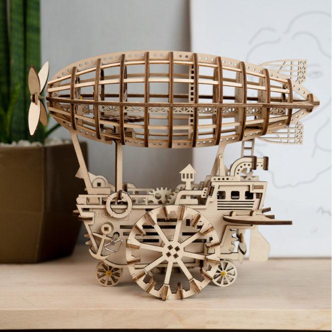 "Koka konstruktors ROKR ""Gaisa kuģis"""