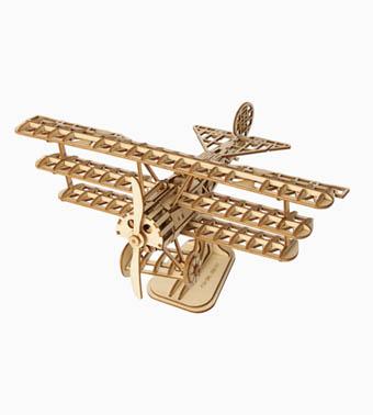 """3D koka puzle """"Lidmašīna"""""""