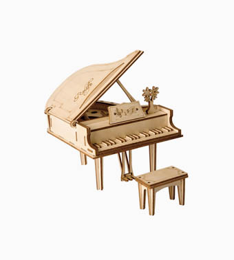 "3D koka puzle ""Klavieres"""