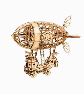 """3D koka puzle """"Mazais gaisa kuģis"""""""