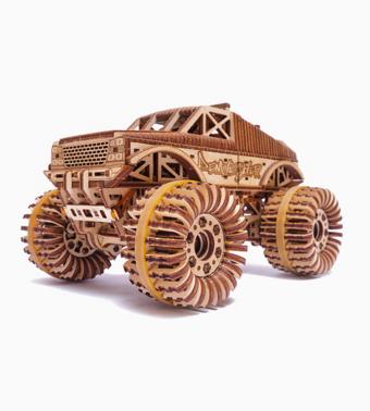 Деревянный конструктор «Монстр кар»