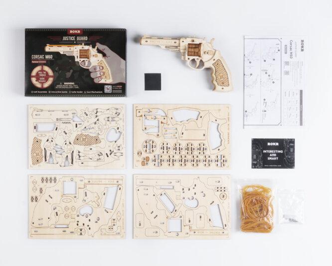"""3D koka puzle """"Korsak M60"""""""