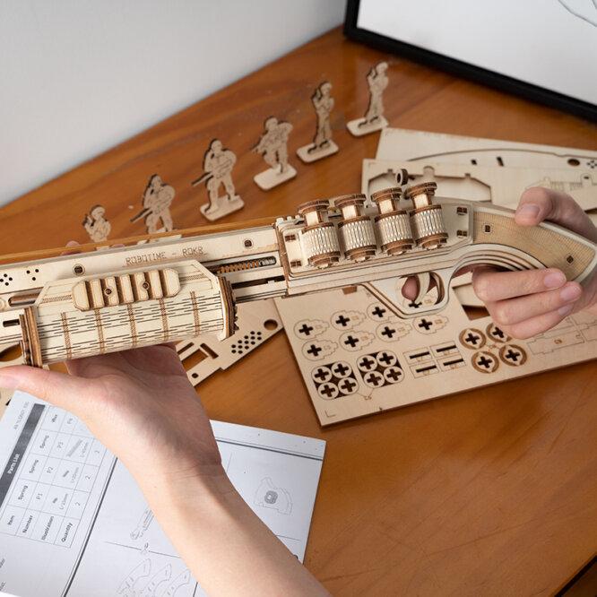 """3D koka puzle """"Terminators M870"""""""