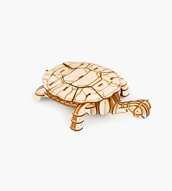 "3D koka puzle ""Bruņurupucis"""