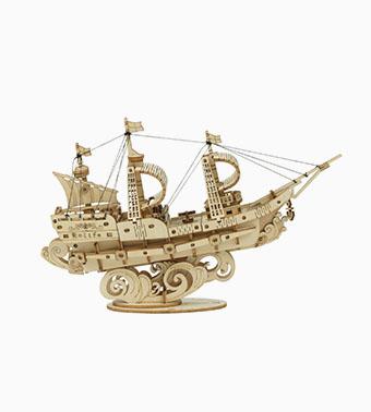 "3D koka puzle ""Buru kuģis"""